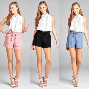 MICHELLE Bow Shorts - 3 colors